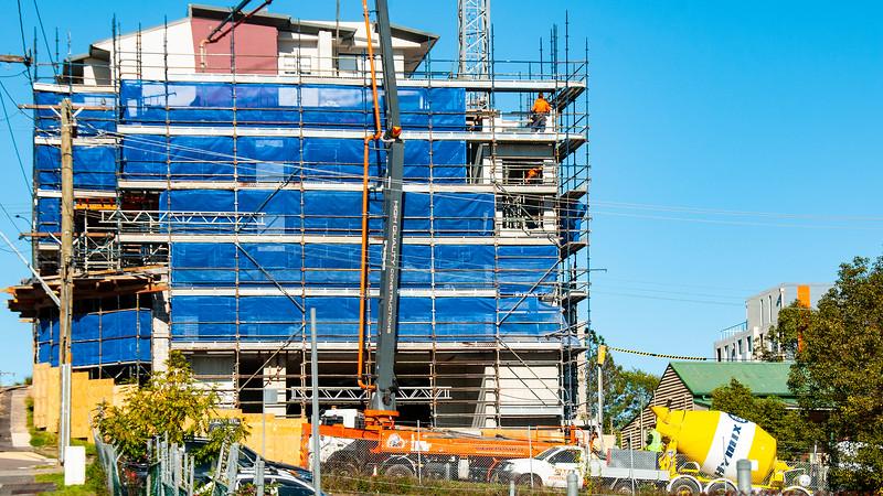 Building progress 97. At 47 Beane St. Gosford. July 2018.