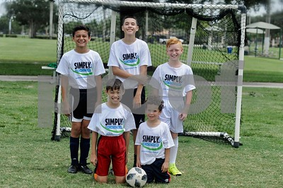 Simply Soccer Summer Camp Week 5, 2019