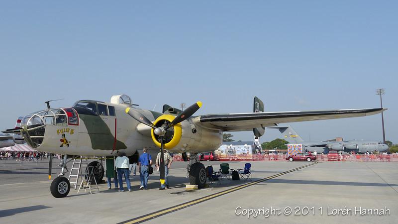 1944 North American B-25J, N62163