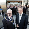 The OUTLET at Bridgewater Park, on the A1 between Belfast and Newry, was officially opened today by Patrick Mc Aleenan (Chairman, Banbridge District Council) and John Farmer (Chairman, GML Estates). Pic by Paul Moane/Aurora PA