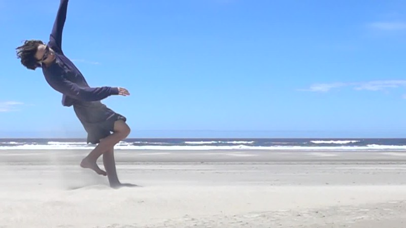 Aiden Kicking Sand into the Wind 2.MP4
