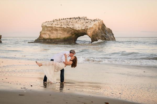 Terri and Dave @ Natural Bridges, Santa Cruz