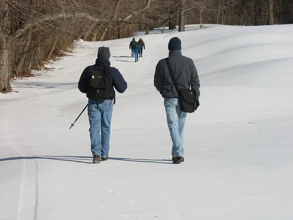 Van Cortland Park Hike,  Feb 17, 2007