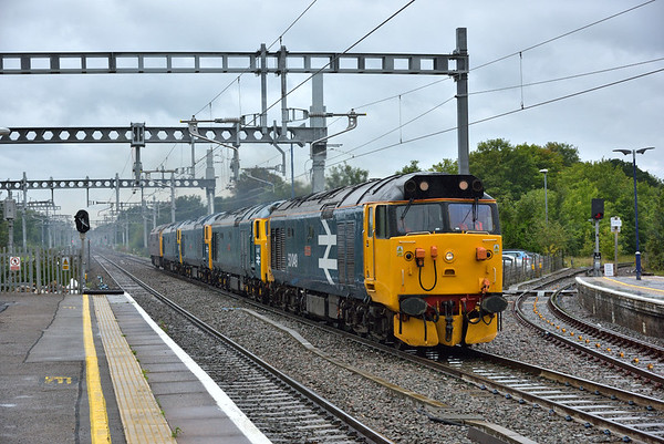 Trains August 2017