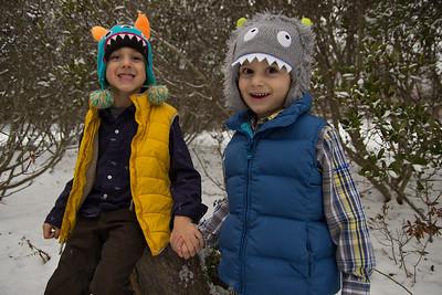 Aaron and Gideon Winter Shoot