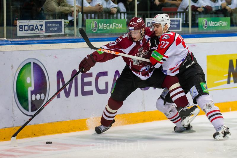 Mārtiņš Cipulis (47) un Jan Kolar (27)