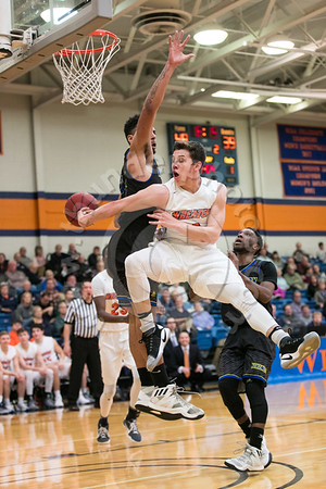 Wheaton College Men's Basketball vs North Park, February 11, 2017