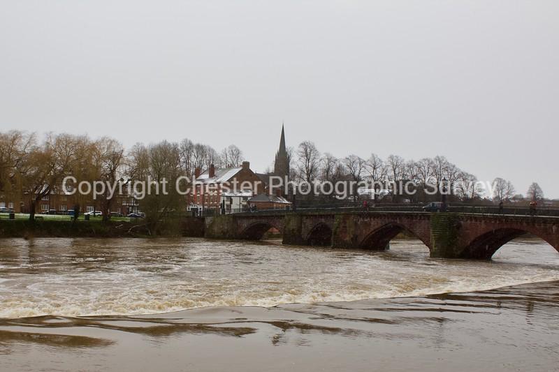 Old Dee Bridge: Handbridge