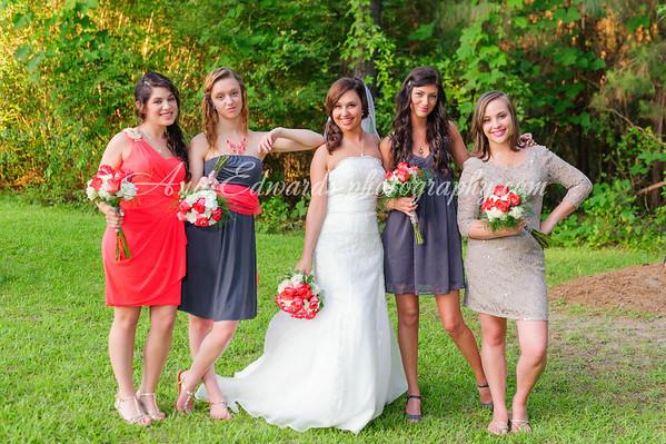 Family & Bridal party.