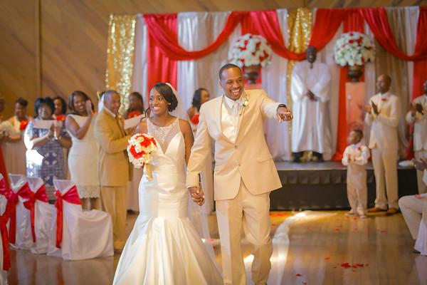 George & Sheneka Wedding Pics