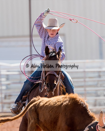 2018 5th and Under Rodeo (Saturday) - Team Roping