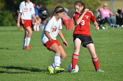 GJV Soccer vs Lowville 9-15-16