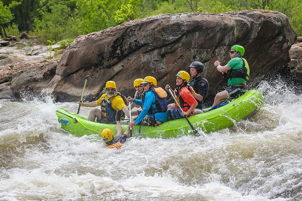 RVA Paddlesports 5-14-16 Afternoon Trip