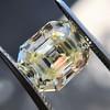 4.71ct Antique Asscher Cut Diamond GIA WX VS2 32