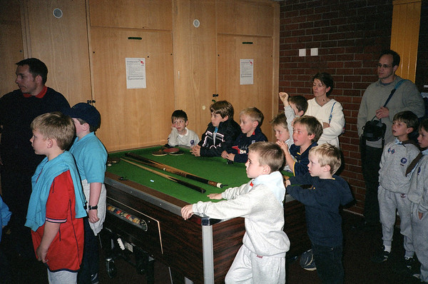 Beavers at Fire Station 2002