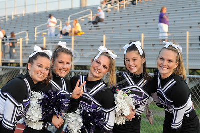2011 Chantilly Chargers Varsity Cheerleaders