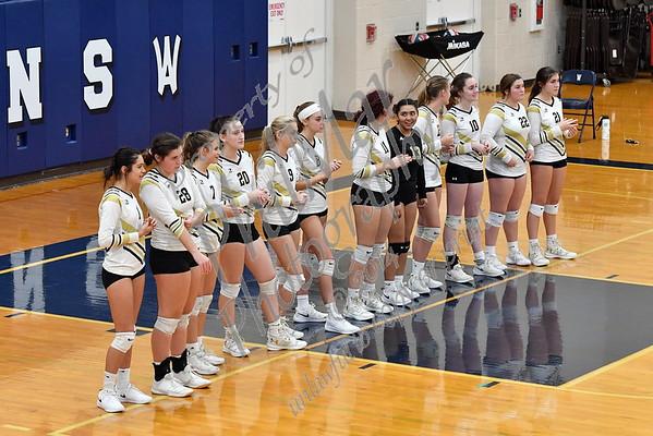 Berks Catholic VS Wyomissing Varsity Girls Volleyball 20 - 21