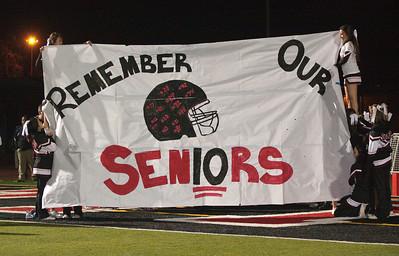 Gunn Varsity senior night