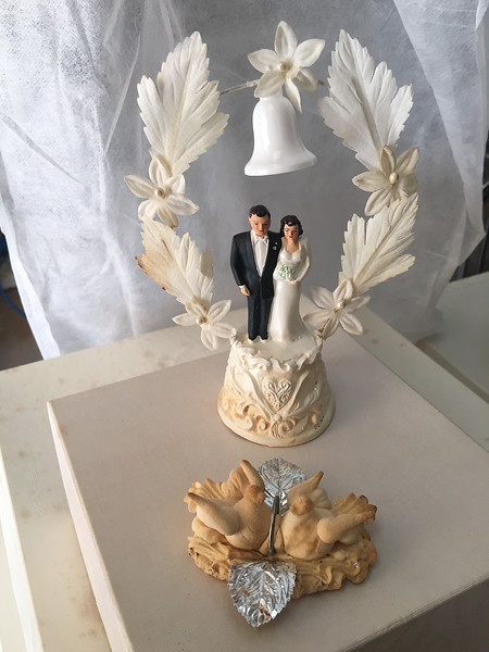 wedding cake topper 1956