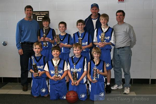 Woodbury 5th Grade Basketball