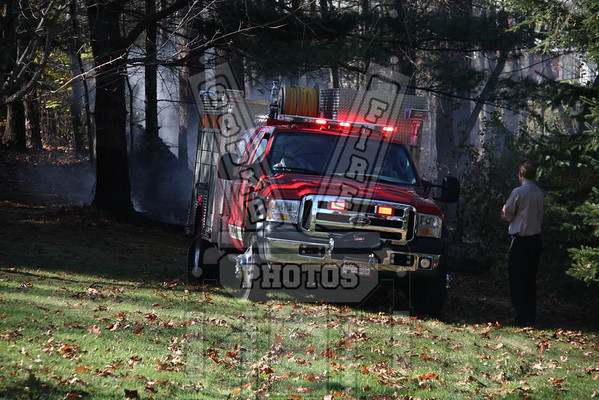 Somers, Ct Brush Fire