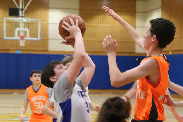 MMS Grades 7 & 8 Boys Basketball vs Hannah Senesh - January 15, 2020