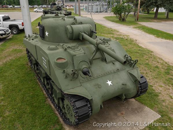 AL Post 106 - Grayling, MI - M4A3(75) & M60A3