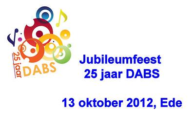 2012-1013 DABS 25 jaar - jubileumfeest & competitie