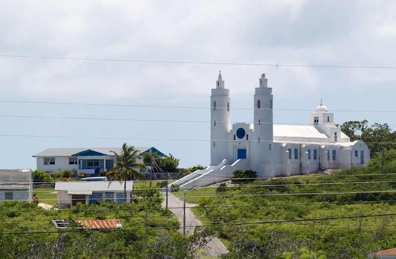 Sts. Peter and Paul Catholic Church and rectory, Clarence Town, Long Island, Bahamas