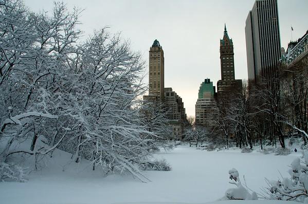 New York Snow 2011