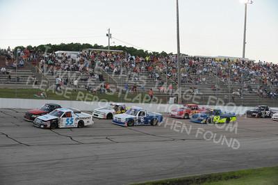 ASA OREGON® Midwest Truck Tour Heat Races
