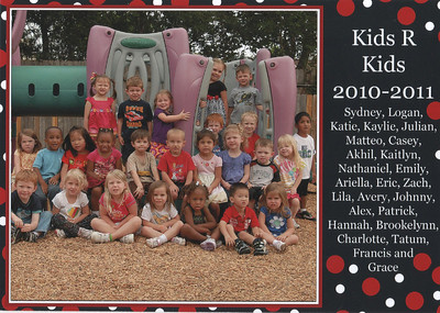 June 2011 - Emily Kids R Kids Class Photo