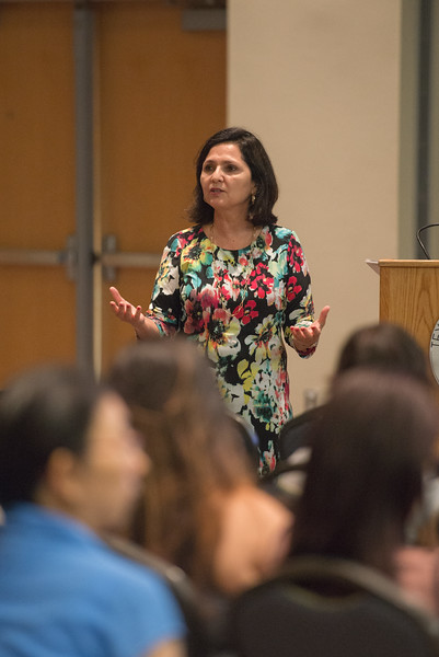 Dr. Maggie Rivas-Riojas, guest speaker and Professor at University of Texas at Austin