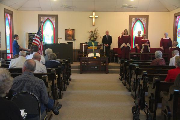11.10.13 Veterans Day at Cahill United Methodist Church