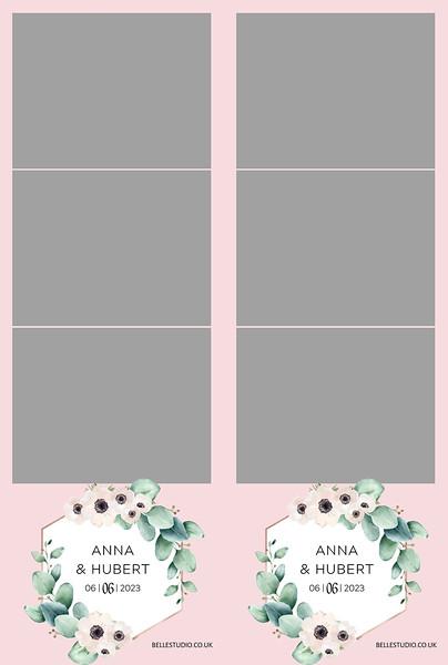 Copy of Copy of eucaliptus watercolour Strips 6x4 photo print .jpg