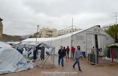 360-Video: View Inside a Refugee Tent