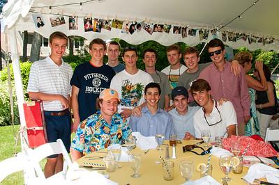 Part 2 Chandler's graduation party