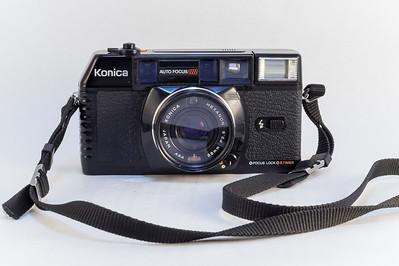Konica C35 MF, 1982