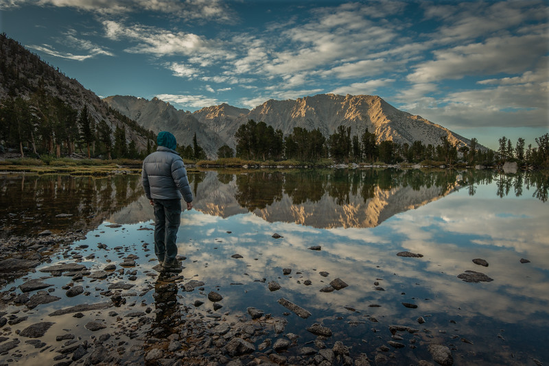 (2019 October 7-9) Robinson Lake-Dragon Lakes East.  Inyo National Forest, California.