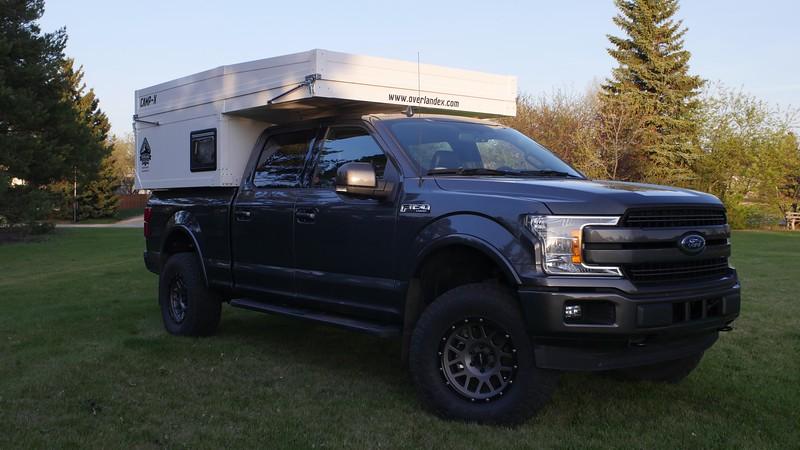 NEW Overland Explorer Expedition Vehicles Composite Pop-Up Camper