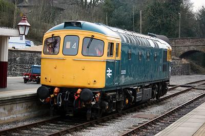 33035 - Ecclesbourne Valley Railway, 3rd March 2013