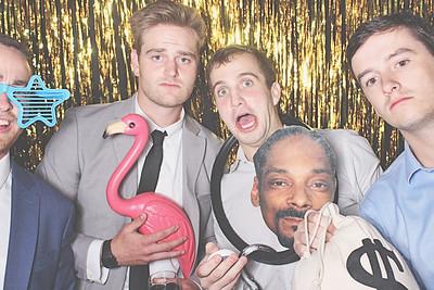 9-12-20 Atlanta Yonah Mountain Vineyards Photo Booth - Trey and Ashton's Wedding - Robot Booth