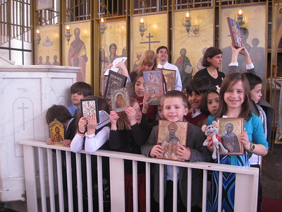 Community Life - Sunday of Orthodoxy - February 21, 2010