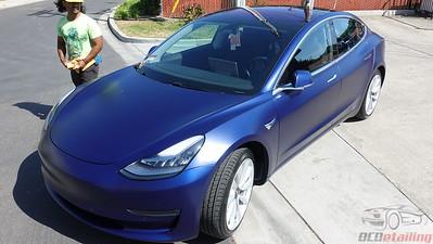 Tesla Model 3 - Stealth Deep Blue Metallic