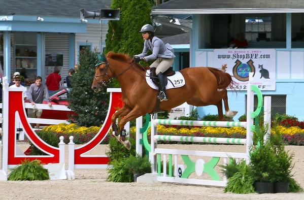 Devon  Fall Classic Jumping on a Saturday