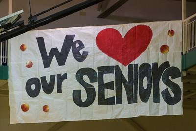 Basketball Seniors January 30, 2015