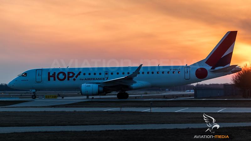 HOP / Embraer ERJ-190LR / F-HBLF