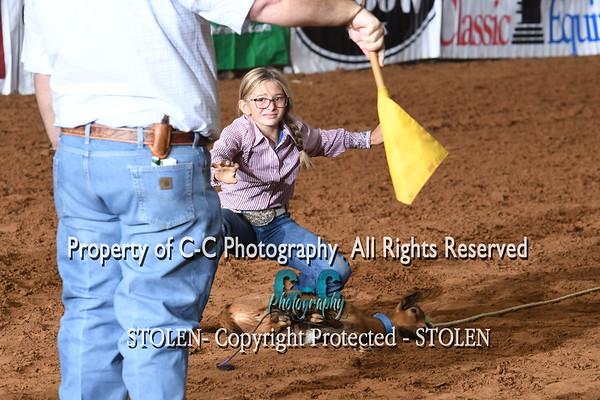 12 & Under Goat Tying Joe Beaver Labor Day 2020 Glen Rose TX