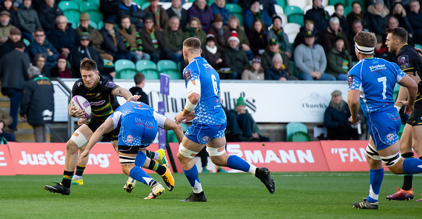Northampton Saints vs Dragons, European Challenge Cup, Franklin's Gardens, 8 December 2018