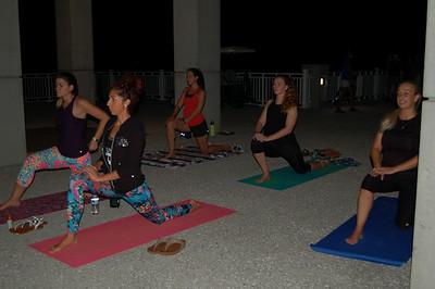 Starlight Yoga Mt Pleasant Pier (9/20/18)